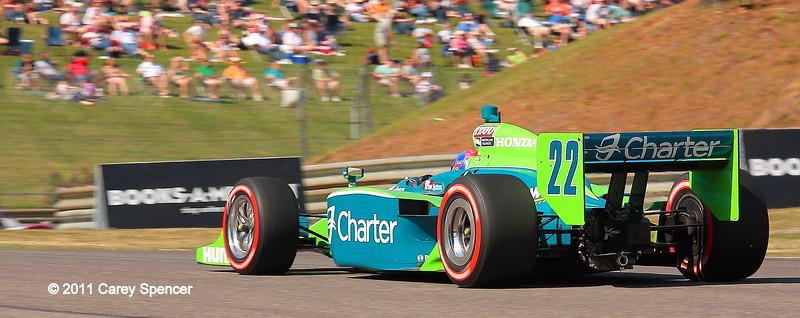 NO. 22 Justin Wilson Dreyer and Reinbold Charter IndyCar at Barber