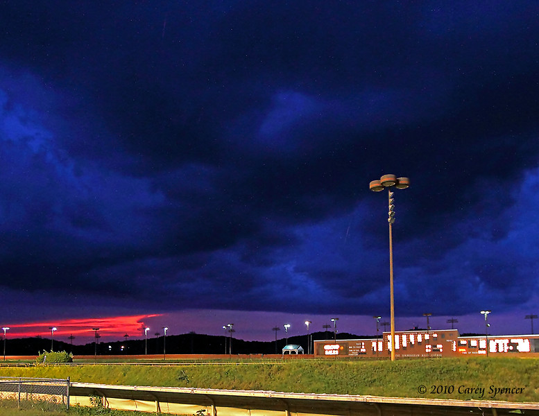 Persied Meteors Stormy Birmingham Race Course