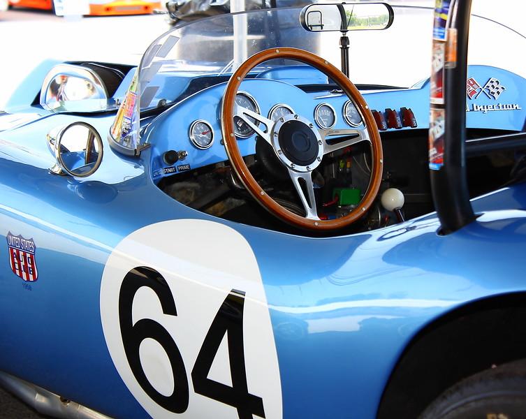 No. 64 1969 Brabham BT29 Legends Barber Motorsports Interior