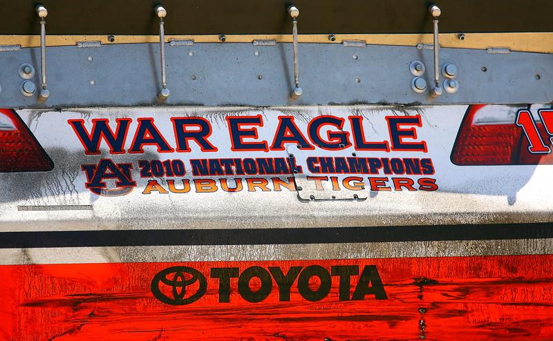 Michael Waltrip 2010 Auburn Tigers Championship Toyota Talladega