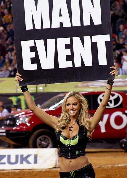 Main Event Monster Girl Atlanta AMA Supercross