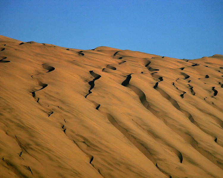 Large Sand Dune Nazca Desert Peru