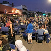 """Leominster held their 2nd """"Dining Under the Stars"""" event on Thursday night, September 5, 2019 on Central Street with live music from HonkyTonk Hangover, and food and drink from Aunty Ellen's Creative Confections, C&M PIZZA, The Columbia Tavern, Mezcal Cantina, The Monument Tap, and TC Landos Sub Pizzeria of Leominster. SENTINEL & ENTERPRISE/JOHN LOVE"""