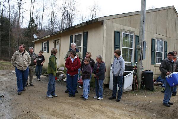 2011,  Lebanon visits Appalachian homes