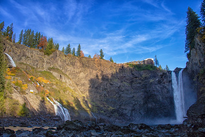October Snoqualmie Falls