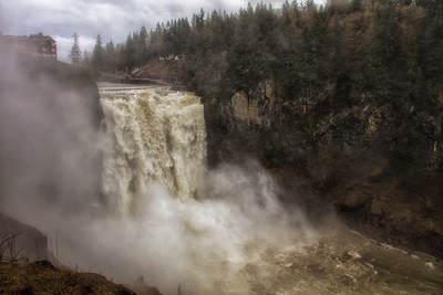 March Snoqualmie Falls