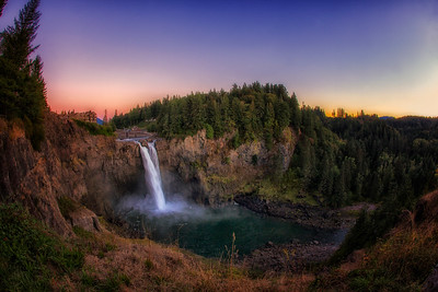 September Snoqualmie Falls