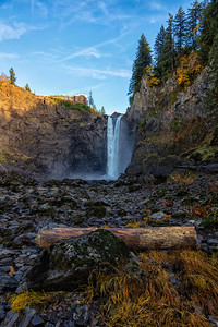 Snoqualmie Falls Portrait Fall