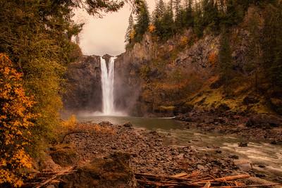 November Snoqualmie Falls
