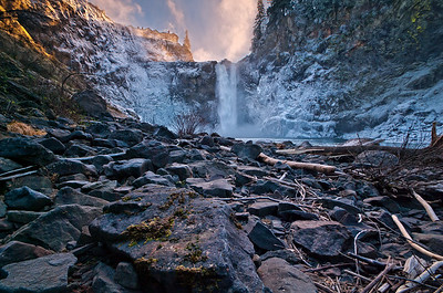 Winter at Snoqualmie Falls