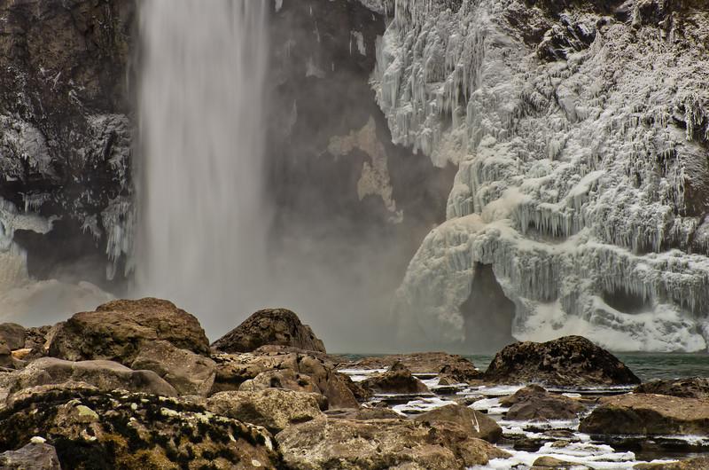 Winter at Snoqualmie Falls