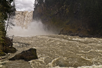 Springtime at Snoqualmie Falls