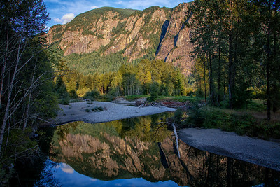 Mt Si Golden Hour Reflection