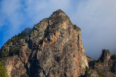 Mount Si Closeup
