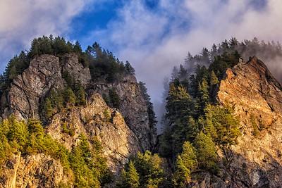 Twin Peaks Mt Si Closeup