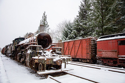 Steam Engine Snow