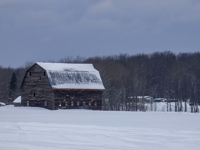 Barn  at Eben Falls, Michigan