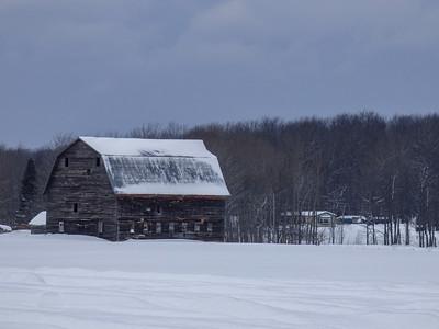 Barn  at Eben Falls, Michigan