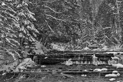 Eben Falls Upper Peninsula Michigan