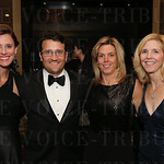 Justin and Justin Powers, Peggy Coulter and Kristin Shapira.