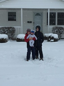 Bryce, Ross & Tyler in Windsor. Submitted by Brittany Gammill