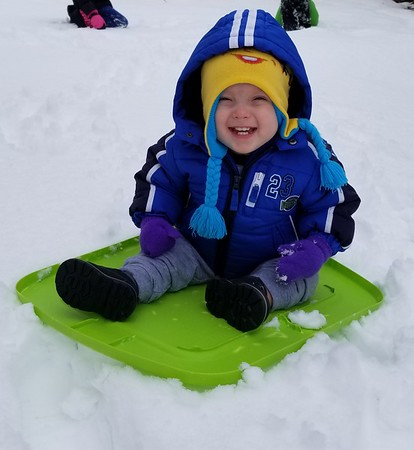 Ryker Miller, 1, in Altamont. <br /> Submitted by Amy Miller