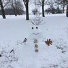 Snow lady<br /> Linda Harvey photo<br /> Newton