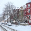 Snow, Washington DC, January 21, 2014<br /> 1400 block of R St NW