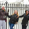 Snow, Washington DC, January 21, 2014<br /> White House visitors
