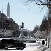 Monuments. Scott Circle, February 7, 2010