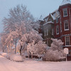 Dawn's early light. 14th Street and Johnson Ave NW, February 6, 2010
