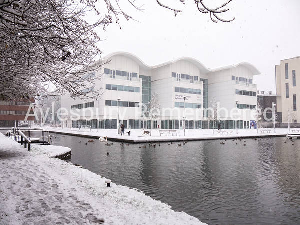 University Campus Aylesbury Vale by Canal Basin, Dec 10 2017