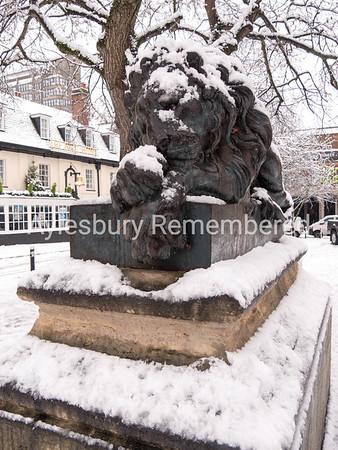 Bronze Lion, Market Square, Dec 10 2017
