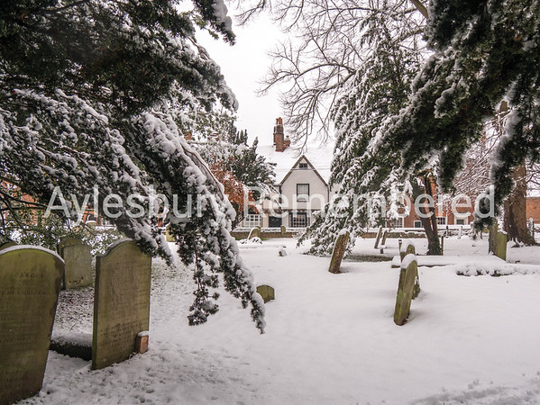 Parsons Fee from St Mary's churchyard, Dec 10 2017