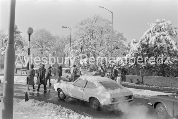 Top of Buckingham Road, Dec 1981