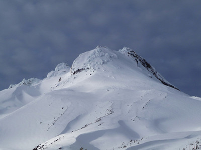 Summit of Mt. Hood.
