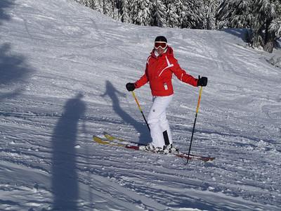 First time on parabolic skis! Armada ARV's...