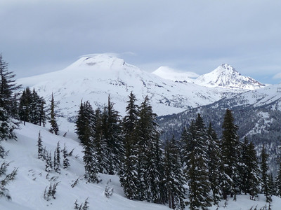 South Sister, Middle Sister and North Sister.
