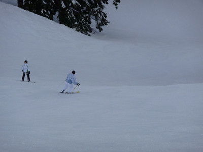 Me passing snowboarder... :)