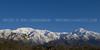 January 23, 2010 - Mount Ontario on left, Cucumonga Peak on right