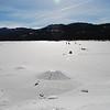 Caples lake.   left kirkwood at 12 noon time.