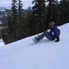 okay, the top of west bowl, the super long, wide, groomed blue run