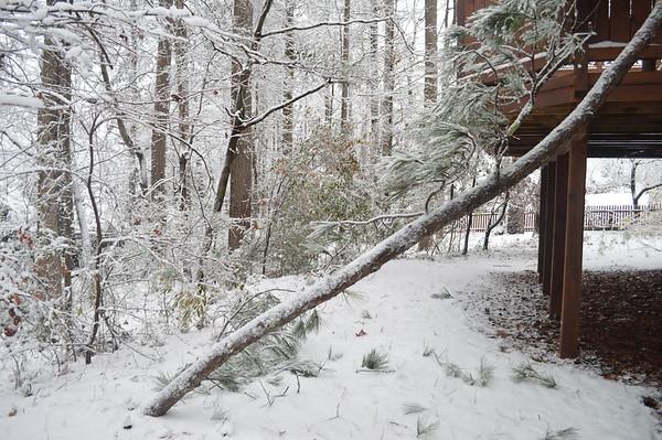 Snow in Marietta, 120717