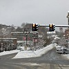 JENN SMITH — THE BEKRSHIRE EAGLE <br /> North Adams roads were fairly clear on Monday morning, despite a hefty overnight snowfall. Looks like Main Street will offer a nice wintry backdrop for Friday night's tree lighting. Monday, December 2 2019