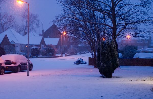 Snow on 2 Feb 2009