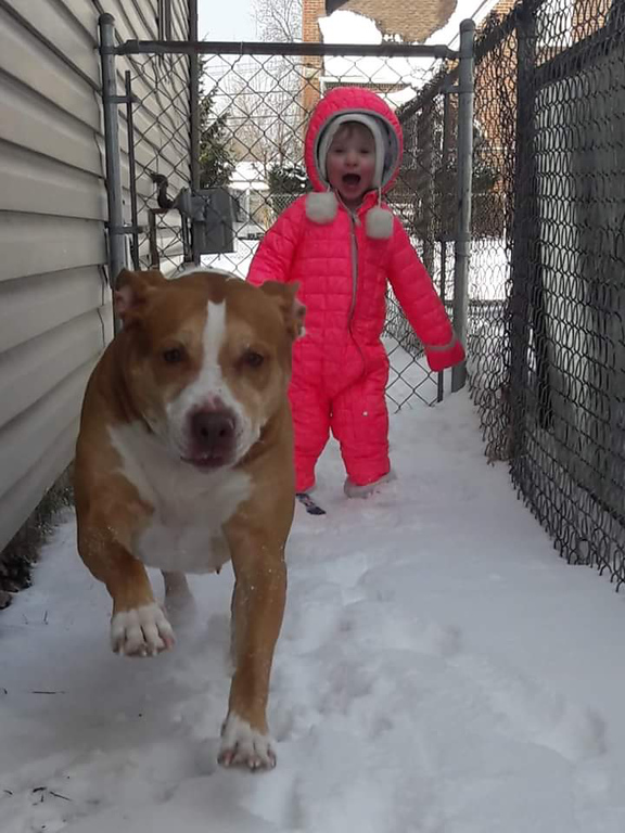 . We love the snow! Submitted by Danielle McCaulley.