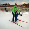 <b>30 Oct 2013</b> Finn's first trip up to the Nordic Centre for the season, checking out Frozen Thunder