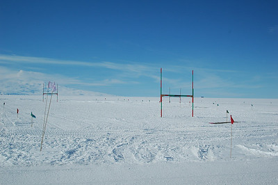MCMURDO STATION, ANTARCTICA: If you're near a Kiwi (New Zealand) base, there has to be a rugby field near by.