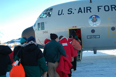 MCMURDO STATION, ANTARCTICA: All Aboard!