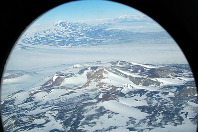 ANTARCTICA: Right out of McMurdo, we fly along part of the Trans-Antarctic Mountains.
